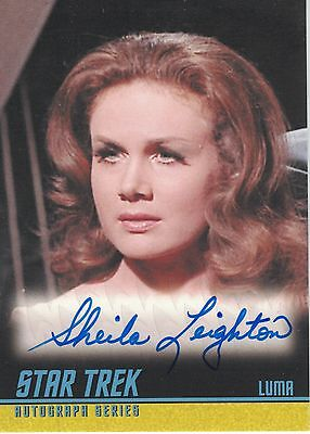 Star Trek TOS Remastered A239 Sheila Leighton autograph