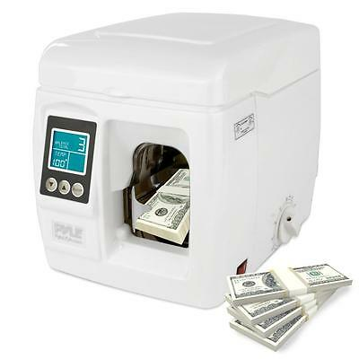 Pyle PRMBN200 Automatic Bill Currency Bank Cash Money Strapping Binding Machine