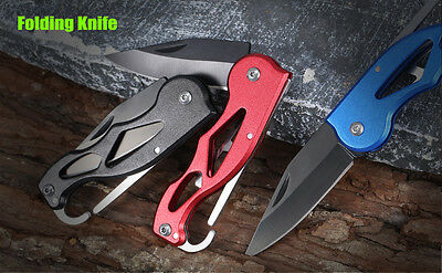 Folding Pocket Knife with Hanging Buckle Coltello Tascabile