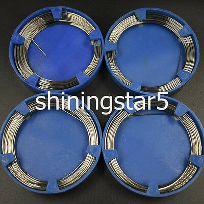 4x New Dental Orthodontic Stainless Steel Wire Surgical Supply 0.7/0.8/0.9/1.0mm