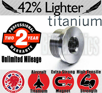 Oil Drain Bolt - Titanium - Magnetic- BMW S 1000 R - 2013