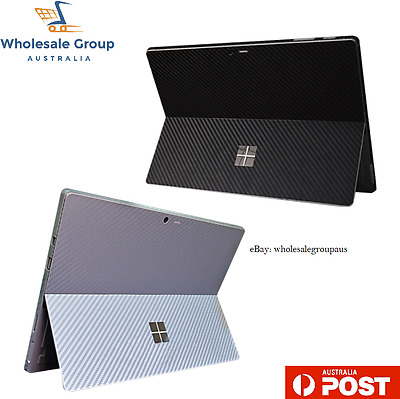 New CARBON FIBRE DECAL for SURFACE PRO 4 Skin Vinyl Cover Sticker Microsoft