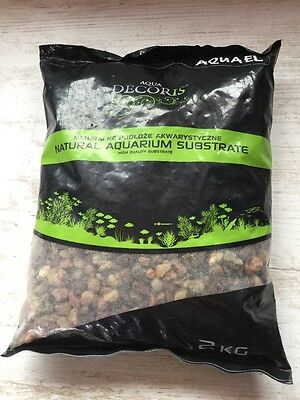 Aquael Sol Basalte Neutre 2kg 5-10mm (crevettes, Poisson, Aquascaping)