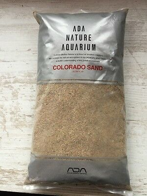 Sol Aquarium Ada Colorado Sand 2kg (gravier, Crevettes, Poissons, Aquascaping)