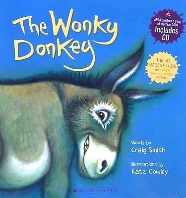 Craig Smith  THE WONKY DONKEY Hardcover book plus CD. Brand NEW