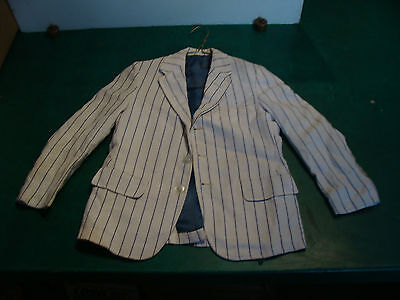 white with blue strip little boys suit jacket BEST & CO fifth ave New York