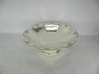 Good Quality Mappin & Webb Solid Silver Tazza Stand, Sheffield 1924