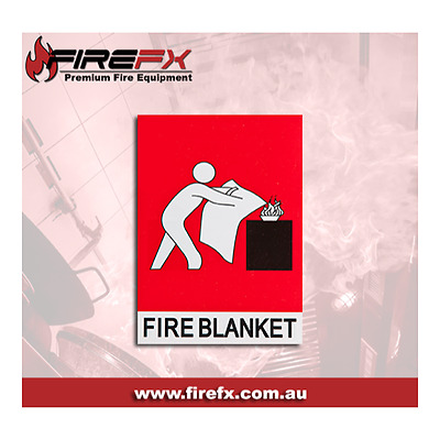 Fire Blanket Location Sign