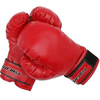 Boxing Gloves Kids Junior Youth Sparring Training Kick Boxing Muay Thai MMA Mit