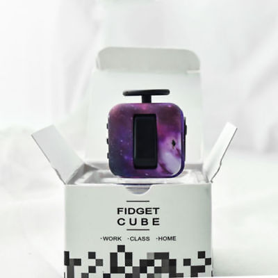 Colorful Camouflage Fidget Cube Toys  Cube
