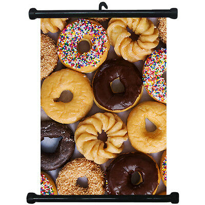 sp217094 Donuts Wall Scroll Poster For Bakery Shop Decor Display