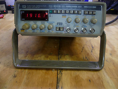 GW Instek GFG-8019G function generator tested