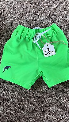 River Island Mini Baby Swimming Shorts 0-3 Months