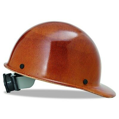 MSA Safety 475395 Skullgard Cap Hard Hat With Fast Track Suspension Natural Tan