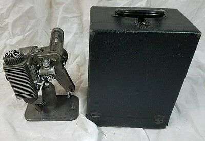 Revere Eight 8mm Movie Projector Model 85 Film Reel to Reel Tested Works!