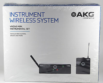 AKG WMS 40 MINI Instrumental Set ISM2 - Neu