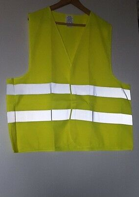 Vest Of Signalling High Visibility En471 Class 2 Yellow