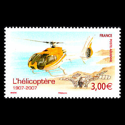 France 2007 - 100th Anniversary of the Helicopter Aviation - Sc C69 MNH