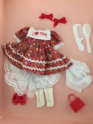 """Vogue Ginny Doll Fashions Ensemble """"71-9130 Lovely"""" Vintage New In Package 1988"""