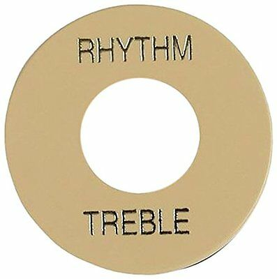 Gibson PRWA-030 Switch Washer Rhythm/Treble Ring Creme With Gold Script