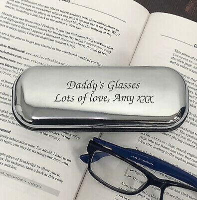 Personalised Engraved Glasses Cases Gifts Birthday Christmas Mothers Fathers Day