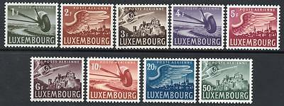 LUXEMBOURG MNH 1946 SG479-87 Air Set