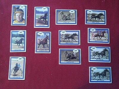 Lot 29 Harness Heroes Collector Cards Harness Horse Youth Found 1991-1996