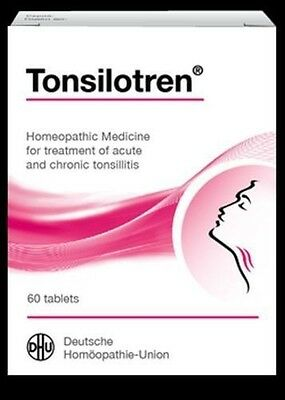 DHU Tonsilotren *60 tabs Homeopathic Medicine for Acute and Chronic Tonsillitis