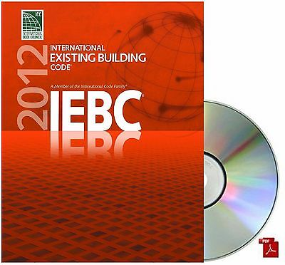 2012  International Existing Building Code ( IEBC) by ICC PDF CD