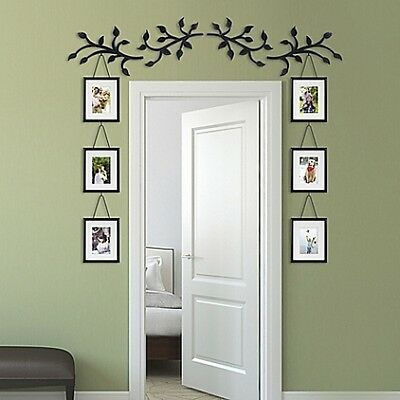 10-Piece Over Door Window Collage Photo Picture Frame Scroll Set Wall Art Decor