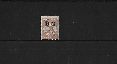AUSTRALIA SG0133, 6d CHESTNUT, GOOD USED, CAT £20