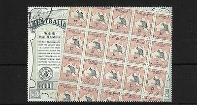 Australia Sg2427, 2004 Treasures From Archives (1St) Fine Used