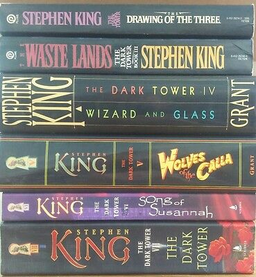 Lot of 40 Stephen King Books - Mostly Hardcover - Incl. Dark Tower #2-7