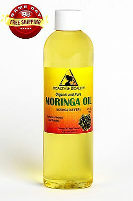 MORINGA OLEIFERA OIL ORGANIC CARRIER COLD PRESSED by H&B Oils Center PURE 4 OZ