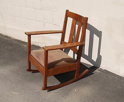 Antique Mission Rocking Chair! - Arts And Crafts