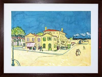 Painting Van Gogh Study Vincent's House Arles Framed Picture Art Print F97X9749
