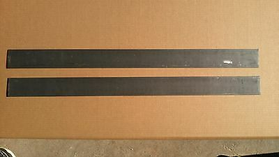 "Set of 3 - 0.134""x2.7""x36"" 1075 CRA High Carbon Steel Flat Bar for Knife Making"
