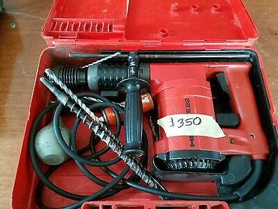Hilti Te 22 Hammer Drill, Rotary Hammer Drill-115V With Case