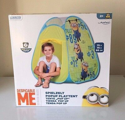 Despicable Me Minion Pop Up Tent Playhouse Play Tent Party Kids Adventure Tent