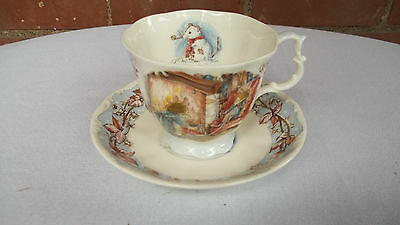Royal Doulton Bone China Brambly Hedge Winter Cup & Saucer