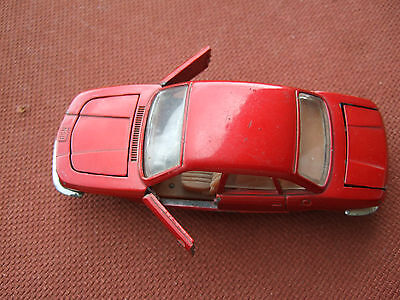 "Mebetoys A- 37   "" NSU RO 80 Wankel ""  1973  metallicrot  1/43 Made in Italy"