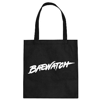 Tote Baewatch Cotton Canvas Tote Bag #3049