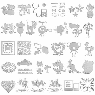 All kinds of Funny Cutting Dies Stencil For DIY Scrapbooking Album Paper Card
