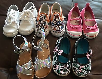 TODDLER GIRL SUMMER DESIGNER CLOTHES & SHOE LOT 18mon-4T, 6-7T shoes