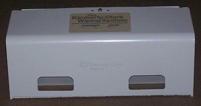 Vintage Kimberly Clark Wiping System Towel Dispenser, Rag On A Roll & Kimtex