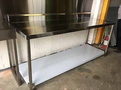 stainless steel bench 2000mm x 700mm x 900mm custom made