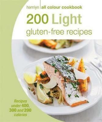 NEW  200 Light Gluten-free Recipes By Hamlyn Paperback Free Shipping