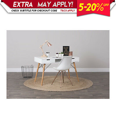 New Eames Study Desk White Writing Table Office Computer Scandinavian Furniture