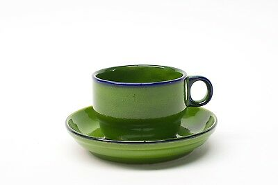 Thomas Germany, Scandic Shadow Green, Cup & Saucer Duo(s) ea.