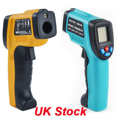 NEW Digital LCD Non Contact Infrared Laser IR Thermometer Gun Point -50 to 380℃